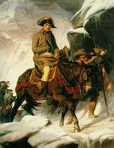 Bonaparte Crossing the Alps