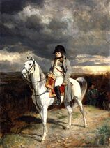 Napoleon at Arcis-Sur-Aube.