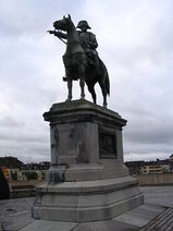 Statue of Napoleon at Montereau