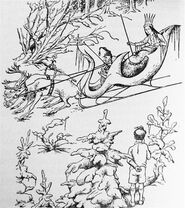 La sorcière avec edmund