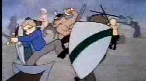 Cronicas de narnia 1979 anime La Gran Batalla
