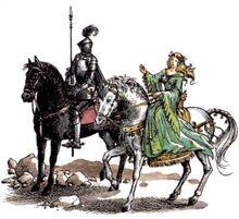 Рилиан-рыцарь и Дама в зелёном СК