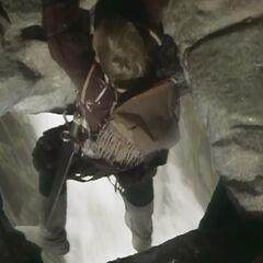 Юстас падает с моста Великанов
