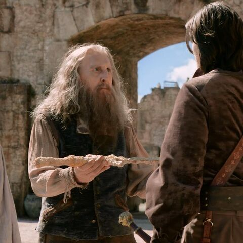Берн вручает свой меч Каспиану