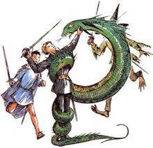 Рилиан и Змея СК