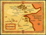 Карта Калормена