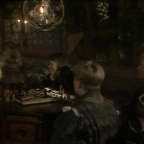 Игра в шахматы в сериале