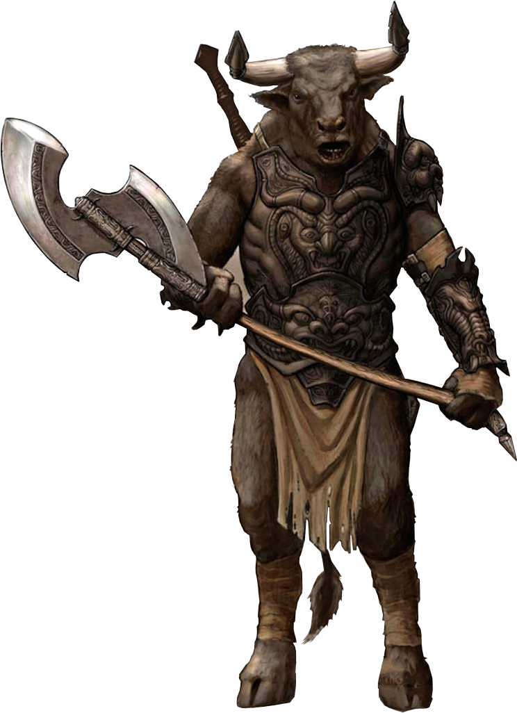 Minotaur The Chronicles Of Narnia Wiki Fandom Powered