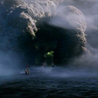Покоритель Зари перед островом Тьмы