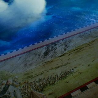Картинка с битвой на полях карты