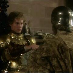 Каспиан назначает Берна герцогом
