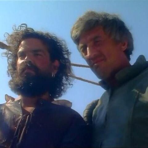 Ринци и Дриниан в сериале