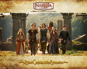 Prince-Caspian-and-The-Pevensies-