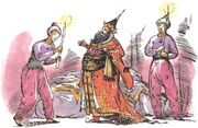 Тисрок и слуги