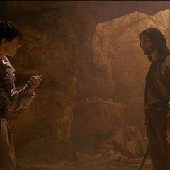 Спор с Эдмундом на острове Мёртвой воды
