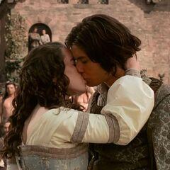 Поцелуй Каспиана и Сьюзан
