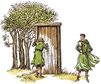 Питер показывает Тириану дверь ПБ