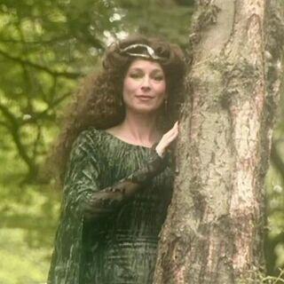 Дама в зелёном соблазняет Рилиана