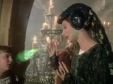 Дама в зелёном магия СКс