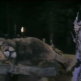 Аслан на Каменном столе в сериале