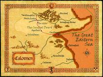 Mapa de Calormen