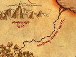 Извилистая Стрела карта