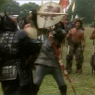 Питер сражается с Миразом в сериале
