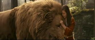 Lucy et Aslan