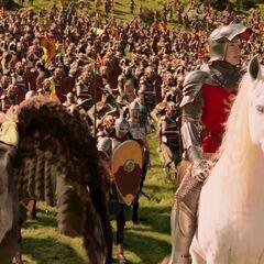 Армия Питера перед битвой