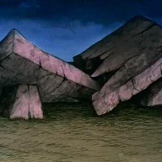 Сломанный Каменный стол в мультфильме