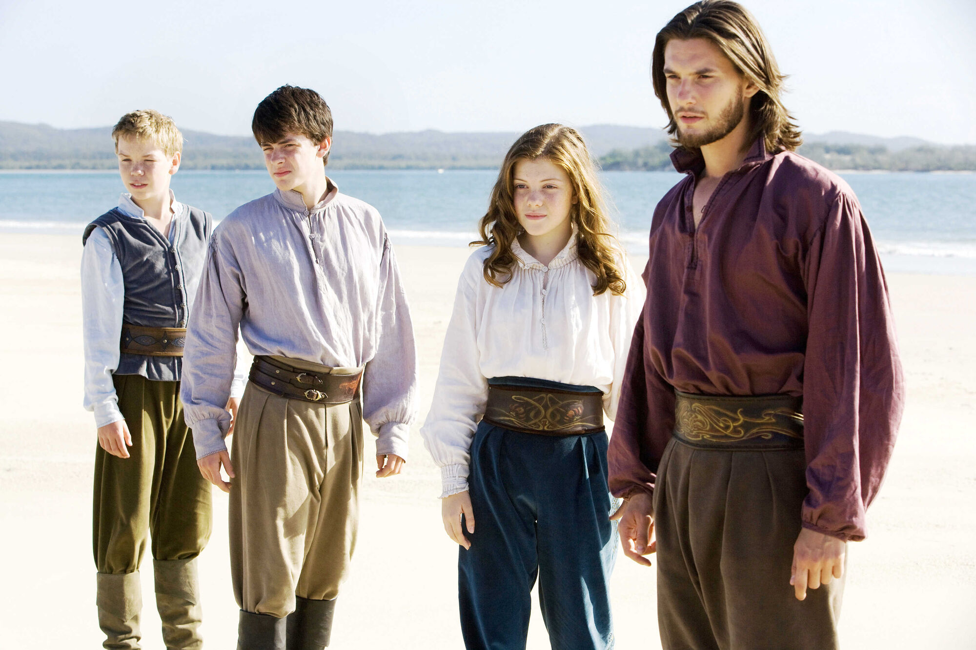 The Chronicles of Narnia The Voyage of the Dawn Treader - DVD Image