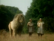 Aslan lucy et susan BBC