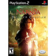 Prince Caspian - PS2 game cover