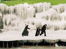 Замёрзшая река съёмки ЛКПф