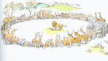 Аслан и животные ПЧ