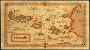 Mapa de El Reino de Narnia