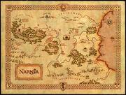 Карта Нарнии мини