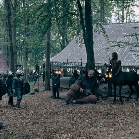 Ветролом и Гленсторм в лагере Мираза