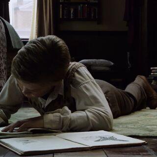 Юстас ведёт дневник в Англии