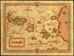 Narnia Karte