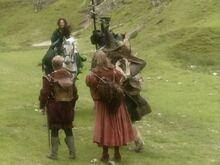 Встреча с Дамой в зелёном и рыцарем СКс