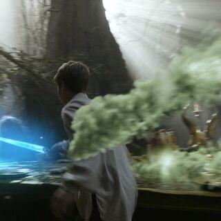 Зелёный туман мешает Юстасу