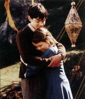 Edmund lucy hug