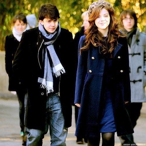Skandar keynes and georgie henley dating photos