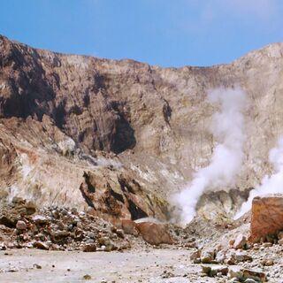 Вулканический пейзаж острова