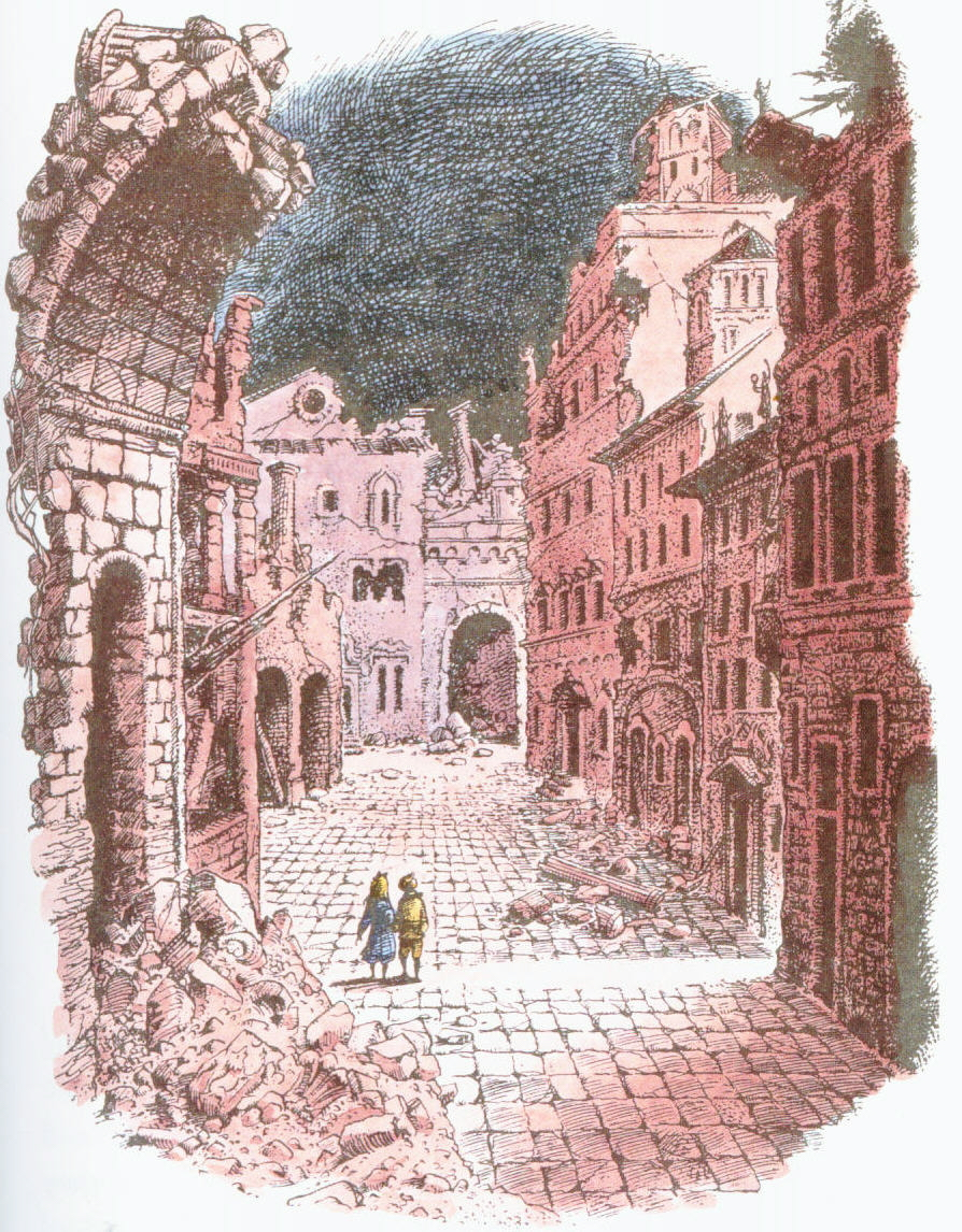Ruins of the city of Charn in Narnian Chronicles