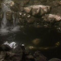 Водоём с золотоносной водой