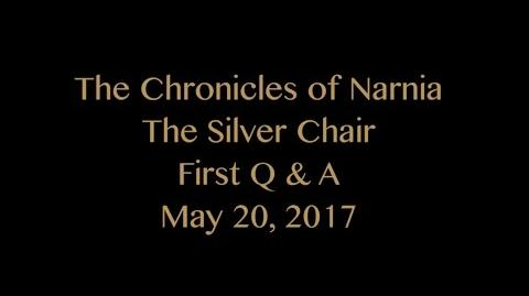Joe Johnston Q&A ~ The Silver Chair ~ Ep. 1
