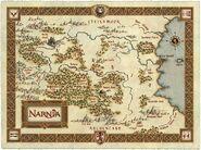 Mapa de El Reino de Narnia del Año (2303)