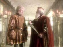 Дриниан и Каспиан с мечом СКс